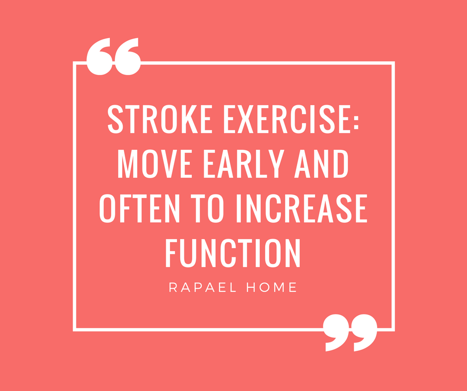 stroke exercise