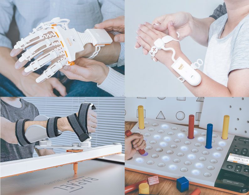 stroke patient home care - RAPAEL Smart Glove