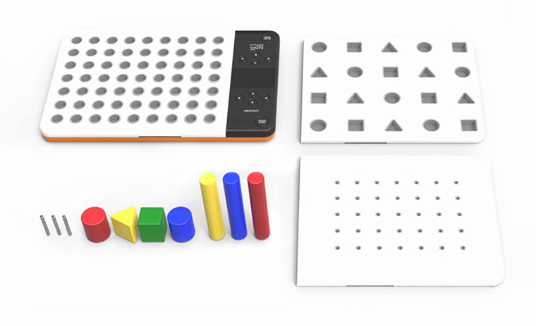 Smart Pegboard to recover fine motor skills after stroke