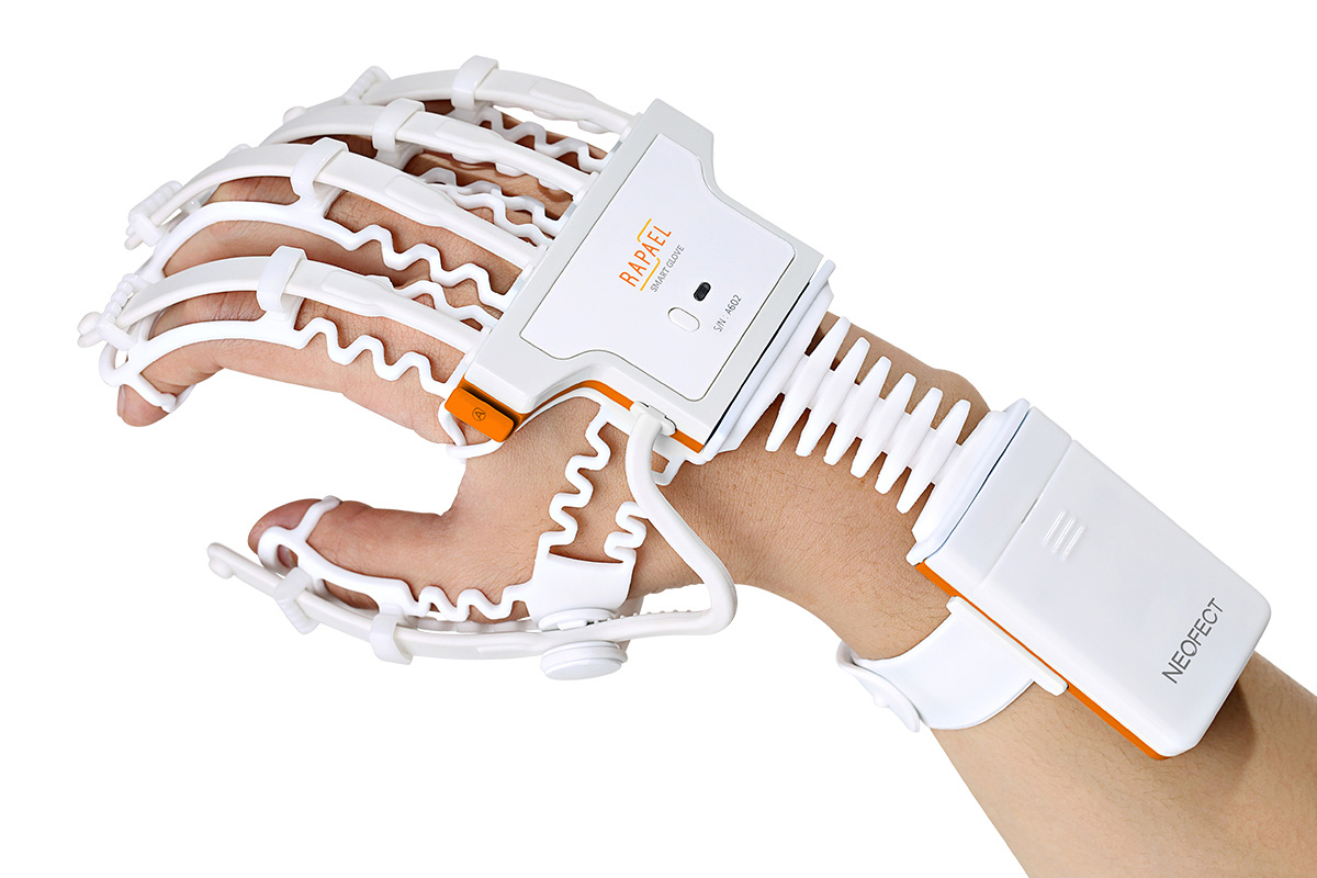 high-tech stroke rehab product - RAPAEL Smart Glove