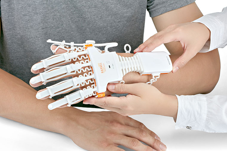 Rapael Smart Glove for Hand and Wrist Rehabilitaion